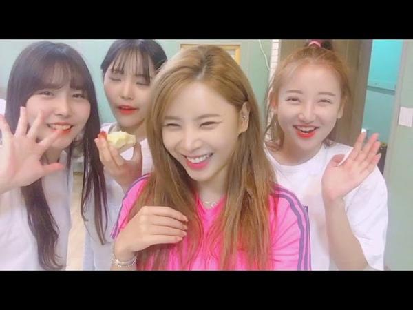 [핑크판타지Pinkfantasy] 데일리셀카5 - 형광팬과 모나미즈♡