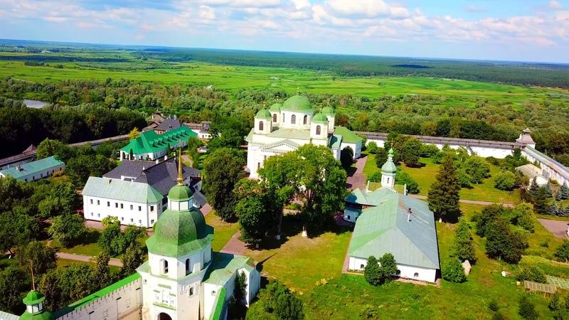 Новгород-Северский: Спасо-Преображенский монастырь