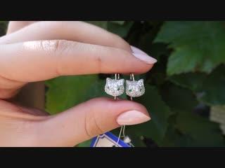 Серебряные серьги арт. ПР-2567