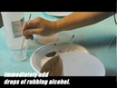 Quick Easy - Rubbing Alcohol Technique