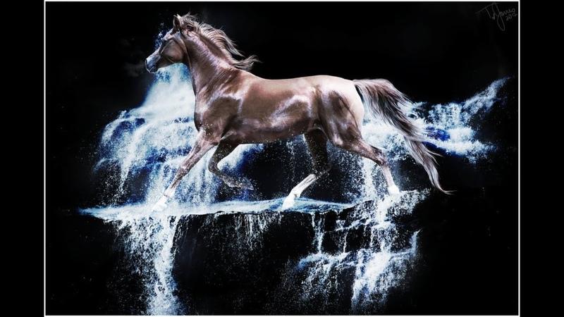 NOCTURNE - Alexander BORODIN ( HORSES IN THE NIGHT ) HD 1080 avi
