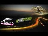 Стрим-солянка из Forza Horizon 3, NFS Prostreet и ETS 2 | Logitech g27 в кокпите