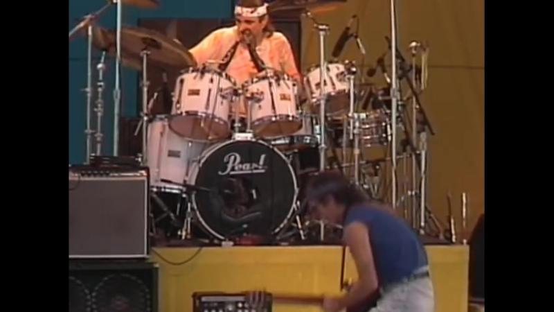 Santana - Europa - 11.26.1989 - Watsonville HS