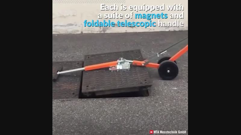 Tools for moving heavy manhole covers