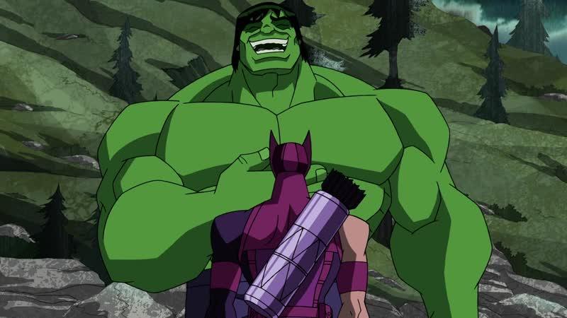 Мстители_ Величайшие герои Земли 1 Сезон 13 Серия Гамма Мир Часть Вторая