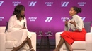 Michelle Obama Tracee Ellis Ross in Conversation at The 2018 United State of Women Summit