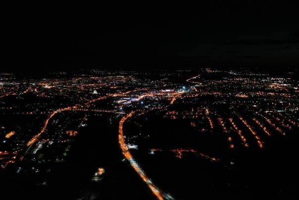 фото смоленска ночью с высоты основу взяла акварельную