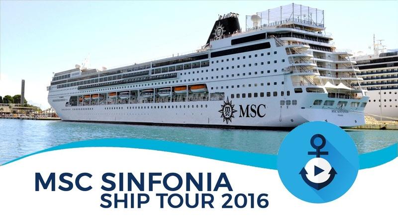 MSC Sinfonia Ship Tour 2016 (After Renaissance)