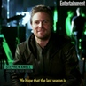 """Entertainment Weekly on Instagram We're emotional ❤️ With Arrow coming to an end the Arrowverse superheroes say goodbybe to Stephen Amell """""""
