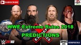 WWE Extreme Rules 2018 SmackDown Tag Team Championship Bludgeon Brothers vs.Team Hell No WWE 2K18