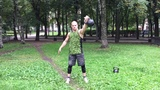 Трансформация дрища! Уличный качок кидается гирями. Ответ Спасокукоцкому о гирях #2 Рывок. Стрим!