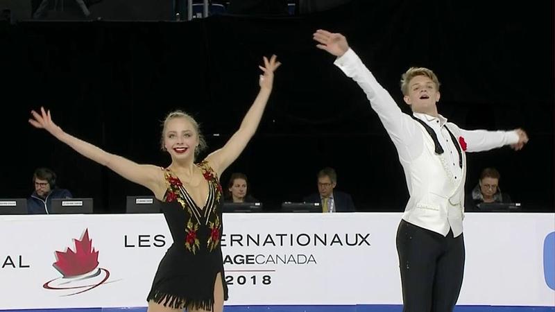 Александра Бойкова - Дмитрий Козловский. Skate Canada. Гран-при по фигурному катанию 201819