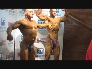PCA 2017 Backstage bodybuilders