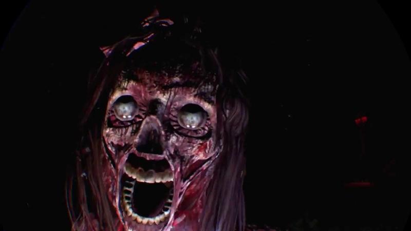 Until dawn:rush of blood.3я глава.Ps vr.Виртуальная реальность на playstation4 pro.