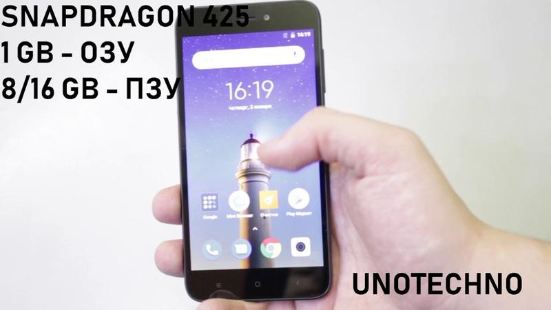 Xiaomi Redmi Go - ОБЗОР самого БЮДЖЕТНОГО смартфона с LTE!