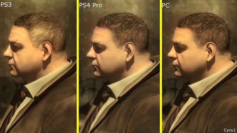 Heavy Rain PS3 vs PS4 Pro vs PC RTX 2080 Ti Graphics Comparison