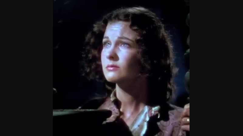 A lovely edit of Vivien Leigh in Gone with the wind