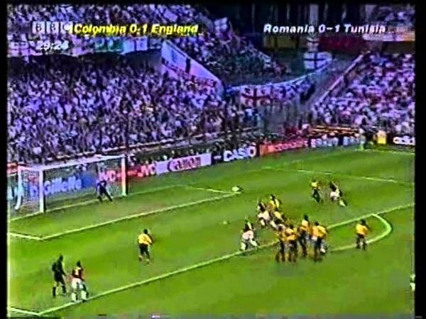 Англия-Колумбия.гр G.ЧМ по футболу 1998г.