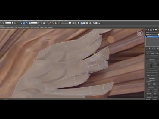 3d max.  моделинг  голубь