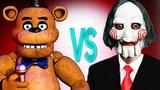 ПИЛА VS 5 НОЧЕЙ С ФРЕДДИ СУПЕР РЭП БИТВА Saw Jigsaw Horror ПРОТИВ Five Nights At Freddy's game
