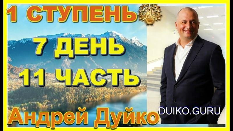 Первая ступень 7 день 11 часть. Андрей Дуйко видео бесплатно | 2015 Эзотерическая школа Кайлас