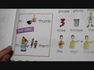 Alphabet book - sound th