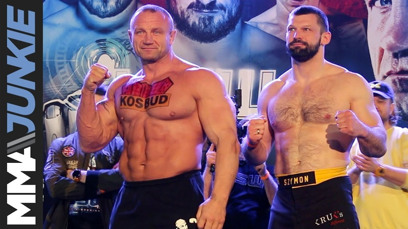 KSW 47 weigh-in highlights