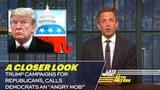 Trump Campaigns for Republicans, Calls Democrats an