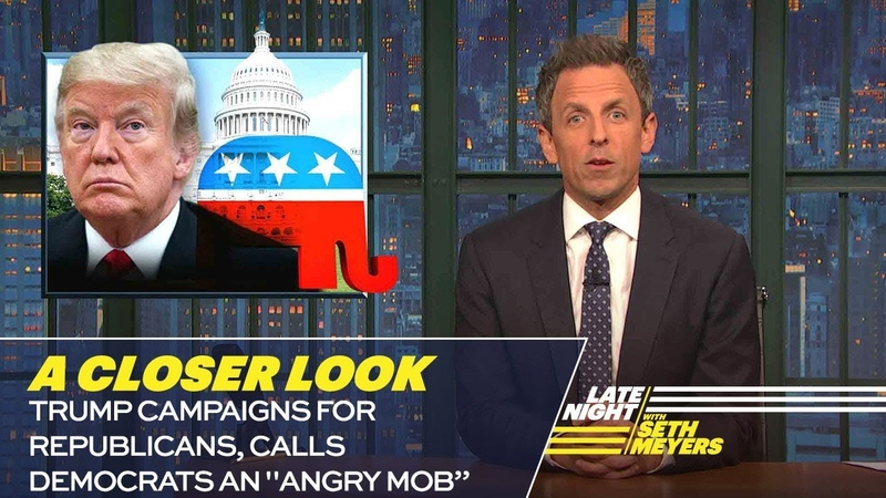 Trump Campaigns for Republicans, Calls Democrats an Angry Mob: A Closer Look