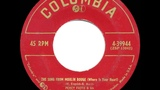 1953 HITS ARCHIVE The Song From Moulin Rouge - Percy Faith &amp Felicia Sanders (#1 hit)