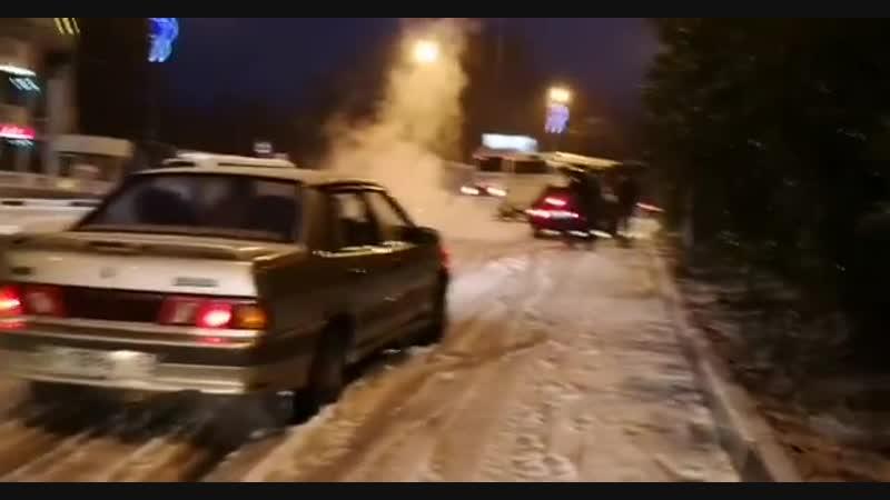 В Сочи выпал снег Видео: instagram.com/ssddsergo