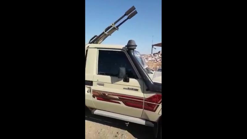 Тавхид Бригада и Ахрар аш Шаркья во время атаки на САА у Тадефа