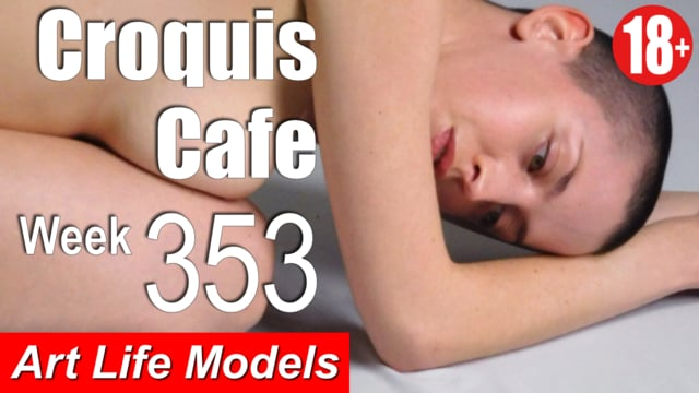 Croquis Cafe Figure Drawing Resource No. 353