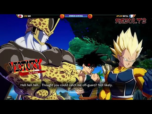 Dragon Ball FighterZ World Tour Saga 3 Ultimate Fighting Arena 2018 Top 8