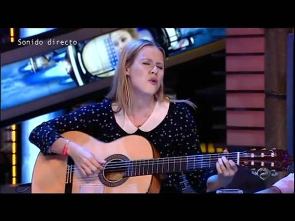Manuela Vellés - Hormiguero 12/06/2012 - Por que yo soy