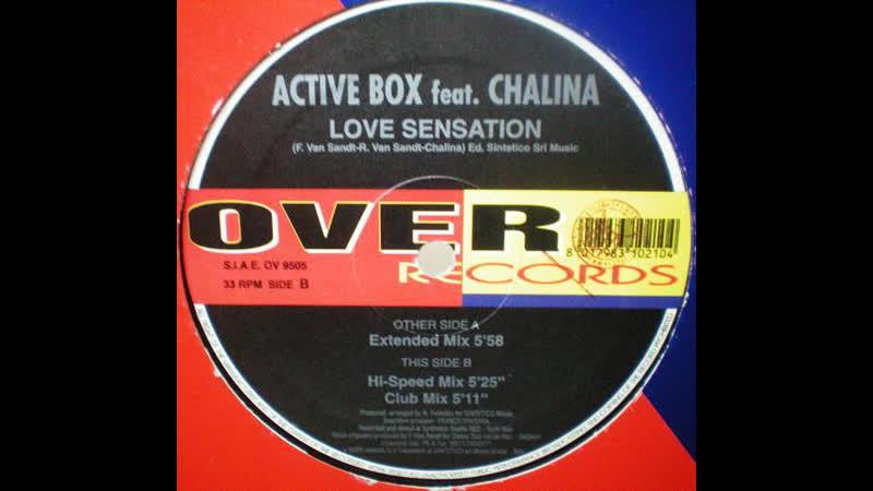 Active Box feat. Chalina - Love Sensation (1997)