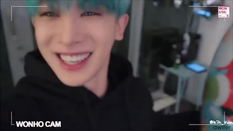 I know Idk how to shut up about wonho and i apologize but his laugh is literally my favorite thing