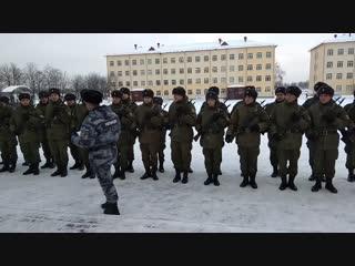 28.12.2018. Присяга В/ч 3500, 5-й полк, 1-я уч.рота