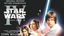 Star Wars Episode IV A New Hope 1977 Soundtrack 02 Main Title Rebel Blockade Runner Medley