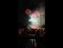 La Mercè musical fireworks display 3