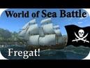 💀World Of Sea Battle 8| Стримчик! Строим новый корабль! (Фрегат) Пираты онлайн! Pirates online!