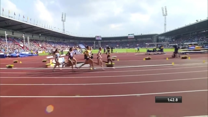 Womens 1500m Athletics Continental Cup Day 1 Ostrava 2018
