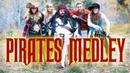 Disney's Pirates of the Caribbean Medley - Peter Hollens Gardiner Sisters (Devinsupertramp)