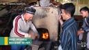 Музей редких орудий как кузнец из Истаравшана кует мечи по Шахнаме