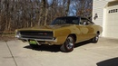 1968 Dodge Charger R T in Medium Gold 426 Hemi Engine Sound on My Car Story with Lou Costabile