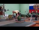 Евгений Белянин-рывок кл. с пл.-75.80.85 кг.(было близко но увы 90 кг. мимо).