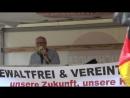 Politische Bildung mit Ernst Cran bei PEGIDA am 01 Mai 2018 in Fürth