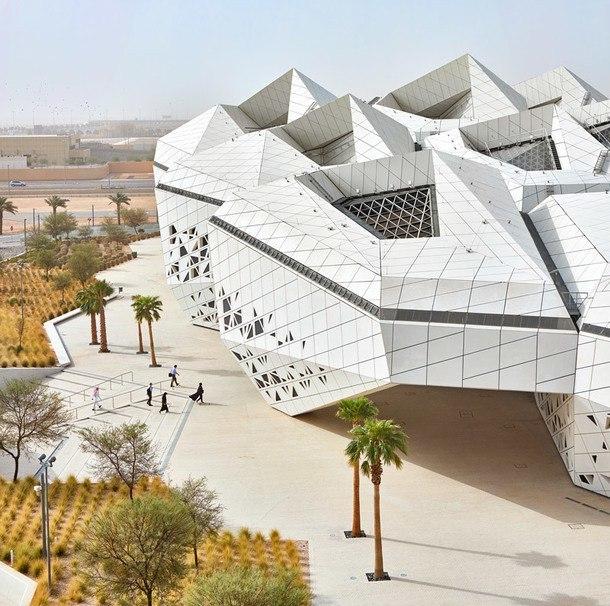 Исследовательский центр по проекту Захи Хадид в Эр-Рияде