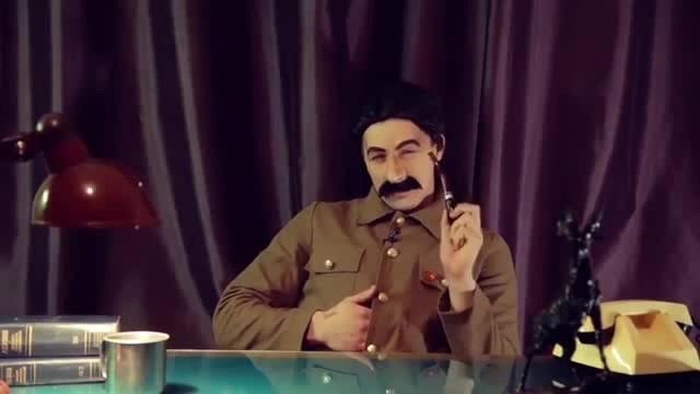 Сталин Пионерки, хватит фотографировать свой пердак · coub, коуб