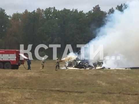 Истребитель МиГ 31 разбился в Кулебакском районе
